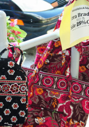 The annual Village Shops and Corinth Sidewalk Sale starts today.