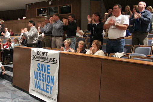 "The federal lawsuit emerged from the group that organized to ""Save Mission Valley"" in 2010."