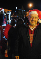 Prairie Village Mayor Ron Shaffer will flip the switch on the annual Prairie Village tree lighting Dec. 4.