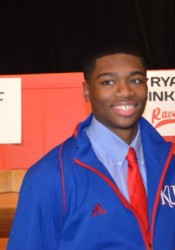 Miege grad Montell Cozart is KU's starting quarterback in his sophomore season.