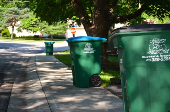 Fairway residents have been reporting delays from trash collector Town & Country.
