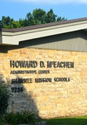 The Shawnee Mission district's Administration Center.