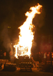 The annual SM East Homecoming Bonfire and Pep Rally is this Thursday.
