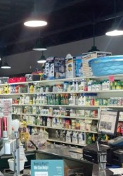 The remodeled store features higher ceilings and new lighting.