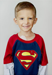 "Bo ""SuperBo"" Macan. Doctors say he is now a good candidate for a bone marrow transplant."