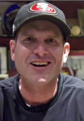 I believe that Jim Harbaugh knows football.