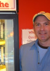 Ron Shockley will be moving his C. Jacks Quiche operation out of Village Shops at the end of the year.