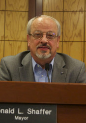 Ron Shaffer's last meeting as Prairie Village mayor will be Monday.