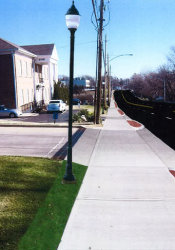 Upgraded sidewalks and lighting are part of the project tentatively scheduled to begin in 2014.