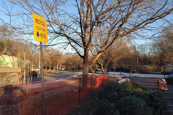 Prairie Village has designated areas for dropping off trees at Porter, Franklin and Taliaferro Parks for residents.