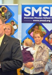 Craig Denny and his family donated $100,000 to the Shawnee Mission Education Foundation in 2014 to support STEM programs.