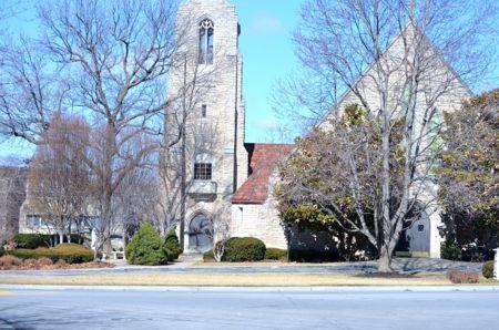 St. Agnes Catholic Church in Roeland Park.