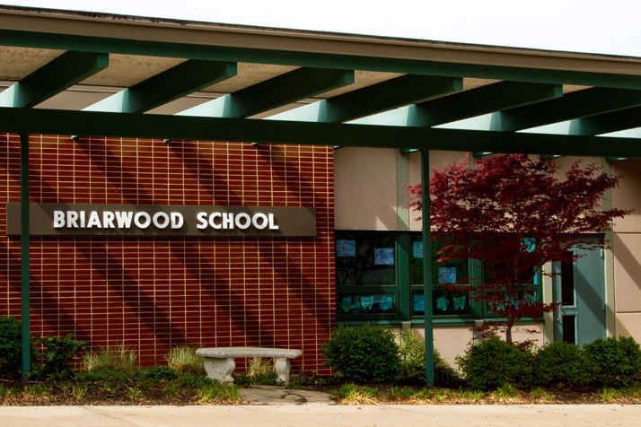 Briarwood Elementary will be torn down and rebuilt — but whether its nine year old gym will be razed or incorporated into the new structure is unknown.