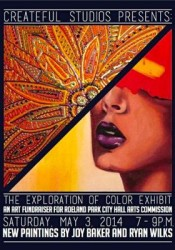 RP Arts poster