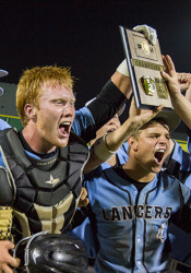 SM East's baseball team had plenty of reason to celebrate Wednesday night after securing the team's first trip to state since 2011.
