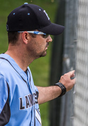 Jerrod Ryherd says his SM East baseball squad played its best game of the year in the regular-season closer against SM South.