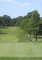 """Topeka Country Club bills its 438 yard, par four ninth hole as """"one of the most difficult in the state."""" Photo via Topeka Country Club."""