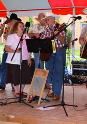 Live music is just part of the fun at the Little Sisters of the Poor Summer Festival.