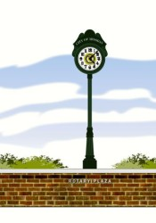 This is one of two designs the Shawnee Mission Rotary Club presented for its donation to the Johnson Drive project.