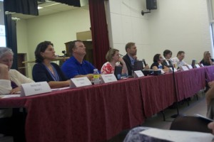The Roeland Park City Council listened to more than 40 speakers Monday night.
