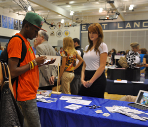 Representatives from more than 200 colleges across the country will set up at SM East Wednesday.