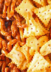 Salty snacks like pretzels and chips can cause unhealthy spikes in insulin.