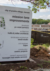 Construction crews expect to be able to reopen Mission Lane to traffic between Aug. 15 and 20.