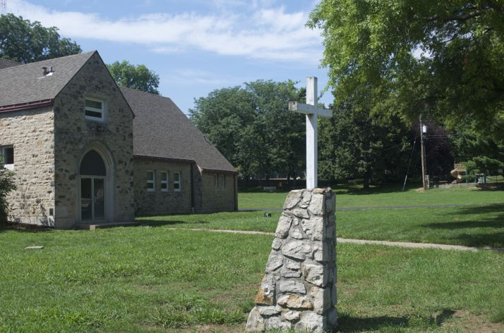 The former Westwood Christian Church property was purchased by the city and now is an integral part of planning for the future of the park next door.