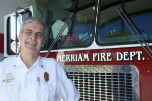 Fire Chief Bob Pape will end a 38-year career with the Merriam Fire Department next week.