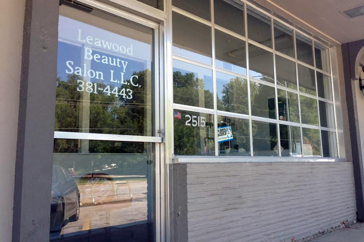 The Leawood Beauty Salon is owned by Susan Choucroun's husband, Charles.