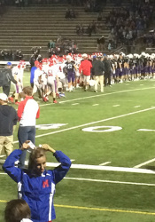 Bishop Miege walked off the field with its first win of the season in a 51-36 rout of Blue Valley Northwest Friday.
