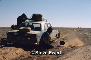 Once of Steve Ewert's photos from the duo's trip across the Sahara desert.
