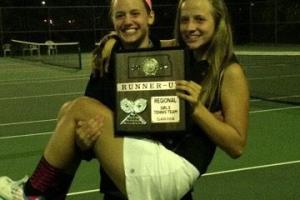 The Star says the KCC doubles team of Callie Eldred and Jennie Jenkins could be a factor in the state tennis tournament.