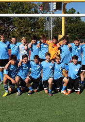 SM East's boys C team finished the year 16-0 — and never let an opponent score a goal.