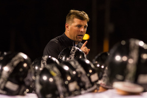 Dustin Delaney told his team not to overlook SM North in next week's district-closing matchup.