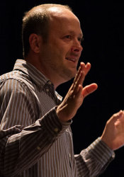 Author Jay Asher.