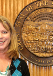 Laura Smith has been appointed Mission City Administrator. Photo by Bill Nichols