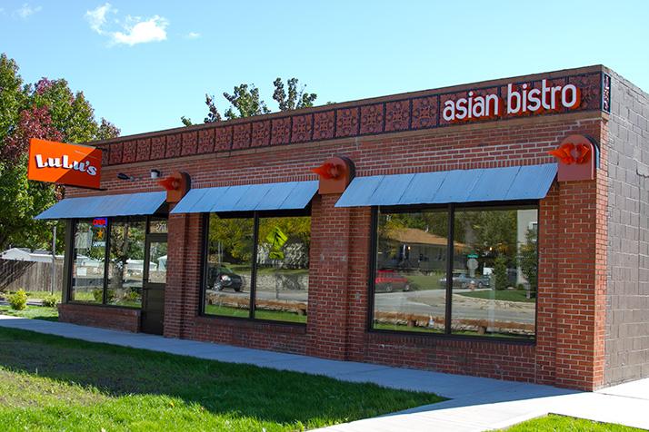 Lulus asian diner menu