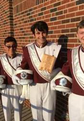 SM North's Marching Band took first in the Bonner Springs Invitational.