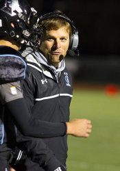 In his second season as football coach, Dustin Delaney has led the Lancers to a 17-2 record and back-to-back Sunflower League titles for the first time in school history.
