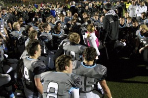 "Coach Dustin Delaney told his team that he ""couldn't be more excited"" to face Hutchinson, where he served as offensive coordinator from 2006-2009, after their substate win Friday."