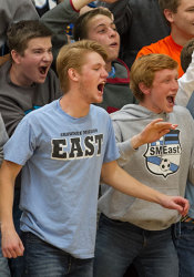 Do these Lancer fans want a state championship? Yes, yes they do.