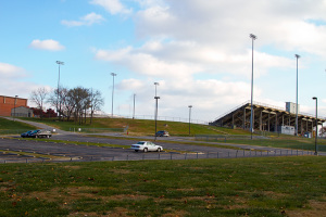 District administrators say they're looking at a swath of land near the stadium at SM South as a potential location for the district's new aquatic center.