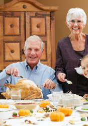 Look how unsettlingly happy this family is.