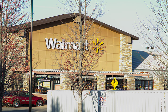 A Look At The South Overland Park Walmart Tom Valenti