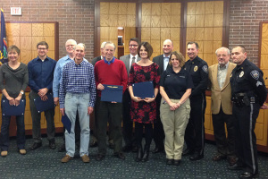Graduate of the Citizens Police Academy received their diplomas Monday at Prairie Village City Hall.