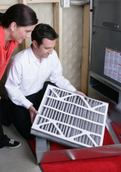 Changing your filter regularly is important to your furnace's health.