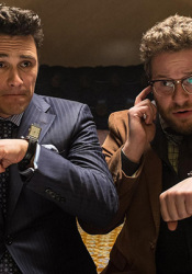 "Seth Rogan and James Franco in ""The Interview."""