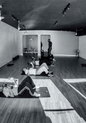 A training area at Exhale, the new fitness center on Johnson Drive in Mission. Photo via Exhale website.