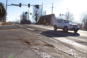 75th Street, which is showing signs of significant deterioration, will be given a major facelift starting in March.